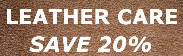 Save 20% On Leather Care